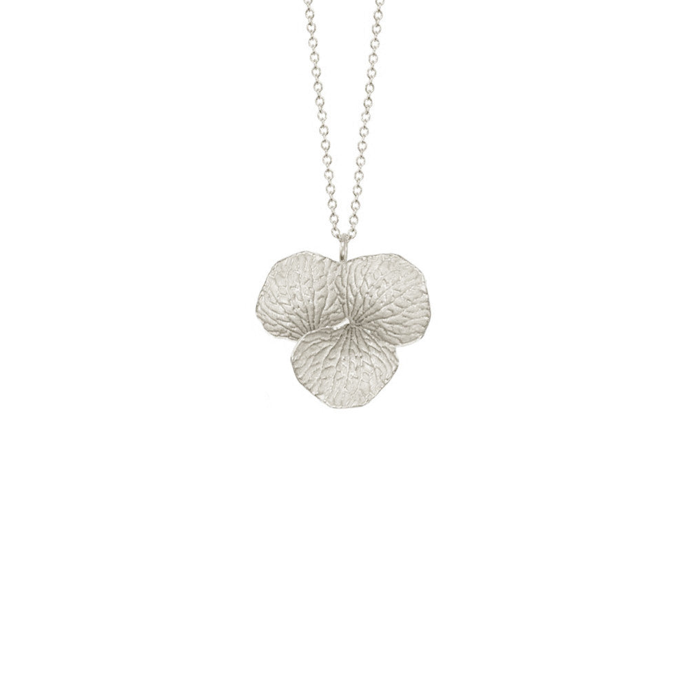 Three Petal Cluster Necklace