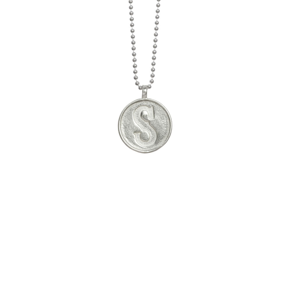 "Charm Necklace - ""S"""