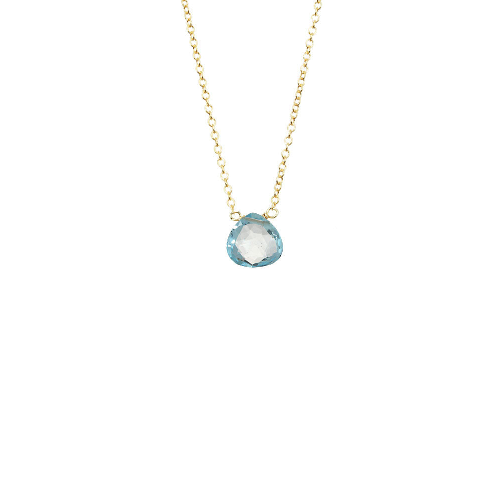 Simple Gemstone Necklace