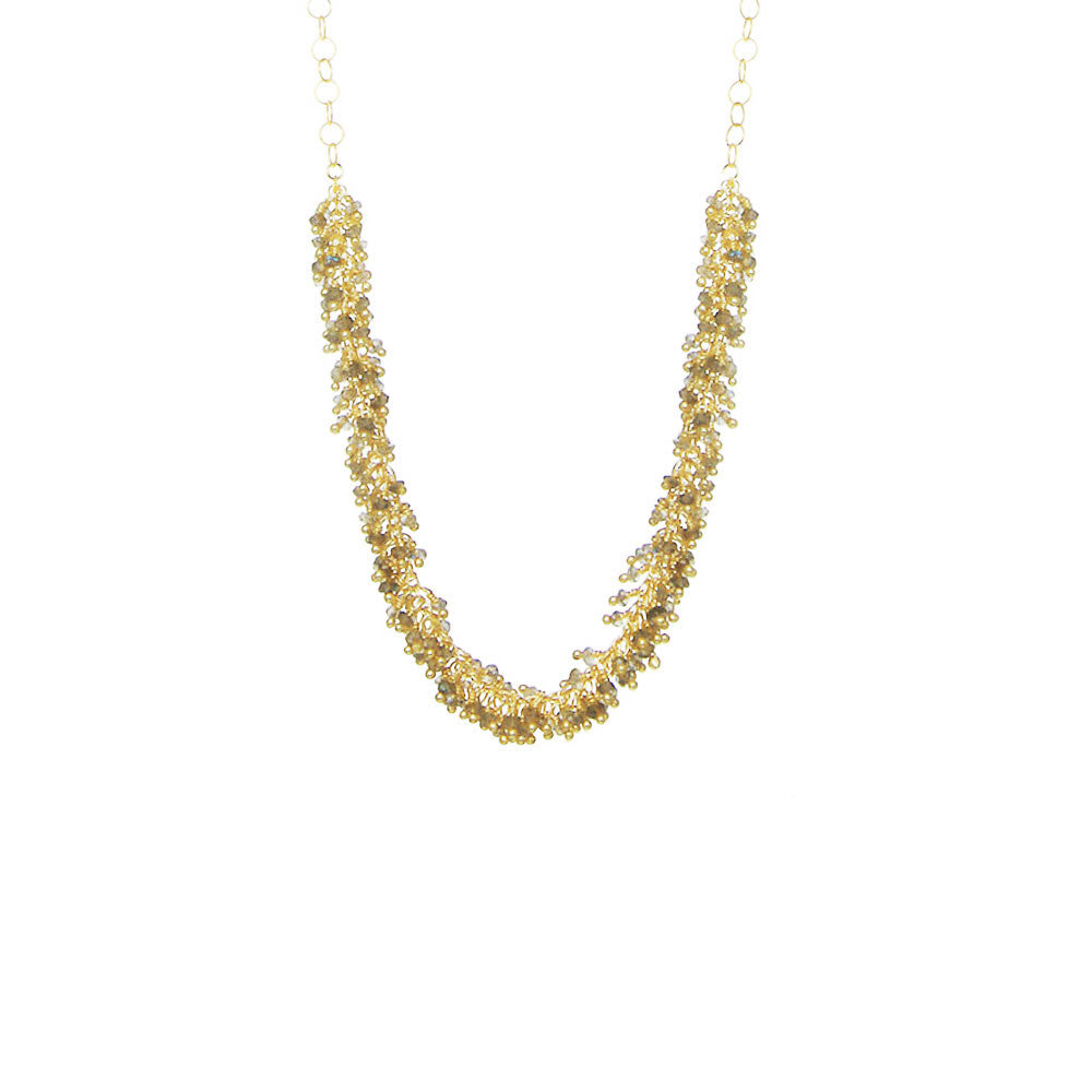 Short Fringe Necklace