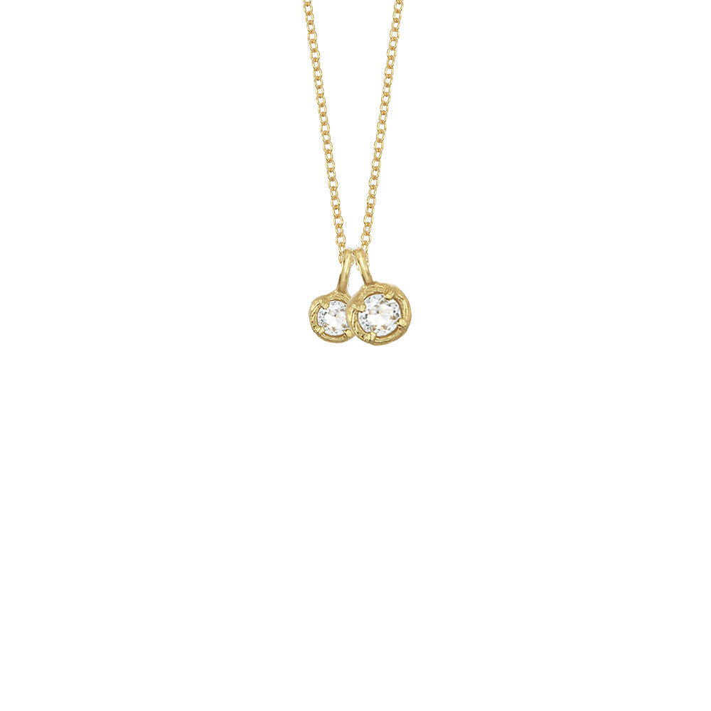 gold total product diamonds solitaire karat necklace of carat with weight solitare white