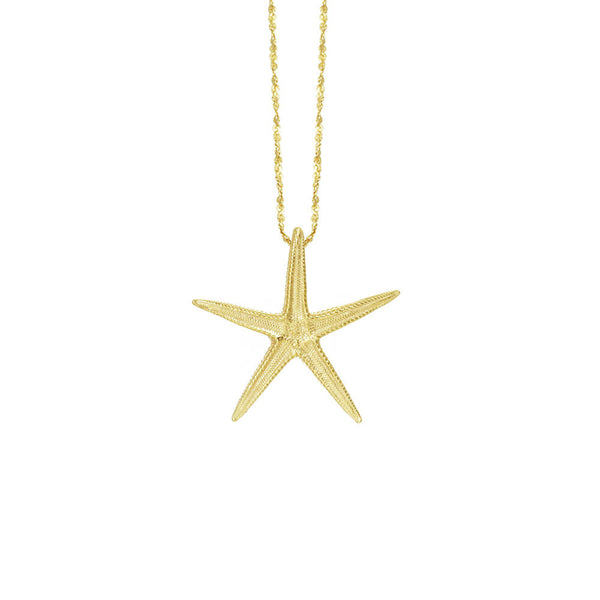 Medium Starfish Necklace