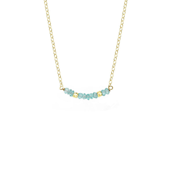 Gemstone Bar Necklace - Select Styles Only