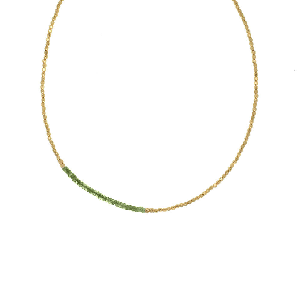 Gemstone Fade Necklace - Selected Gold Styles Only