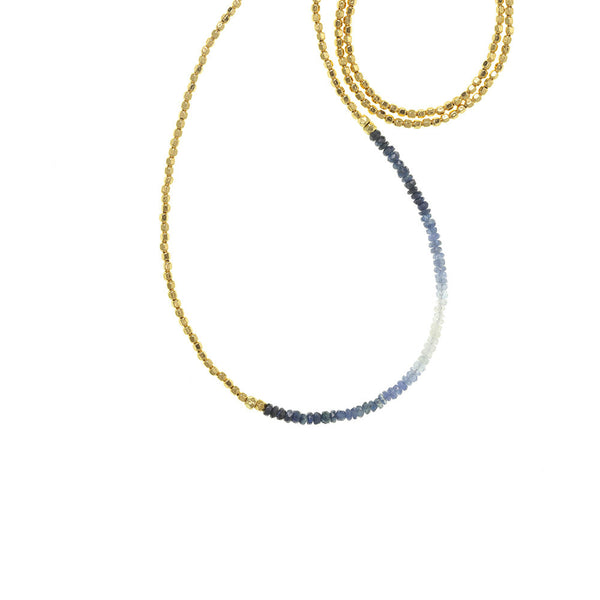 Long Gemstone Fade Necklace - Select Styles Only