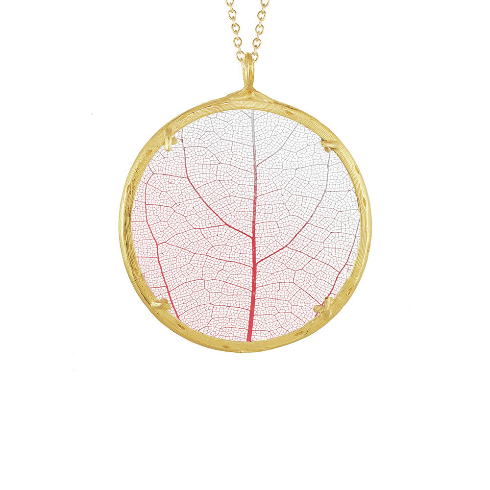 XLG Botanical Leaf Necklace