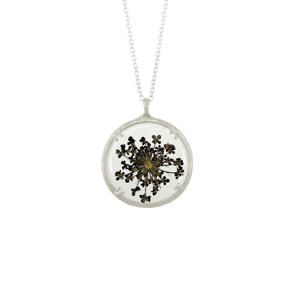 Large Winter Botanical Necklace