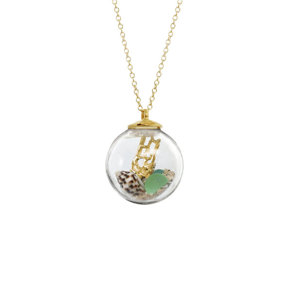 Aquarium Globe Necklace