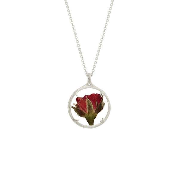 Birthmonth Flower Small Botanical Necklace