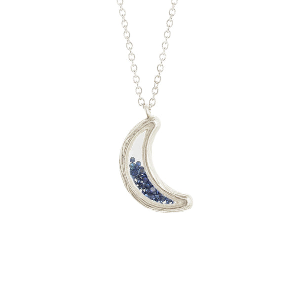 Large Moon Shaker Necklace