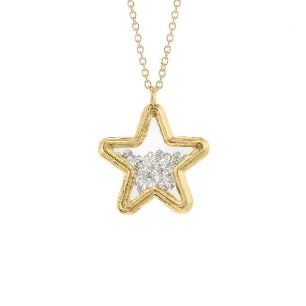 Large Star Shaker Necklace