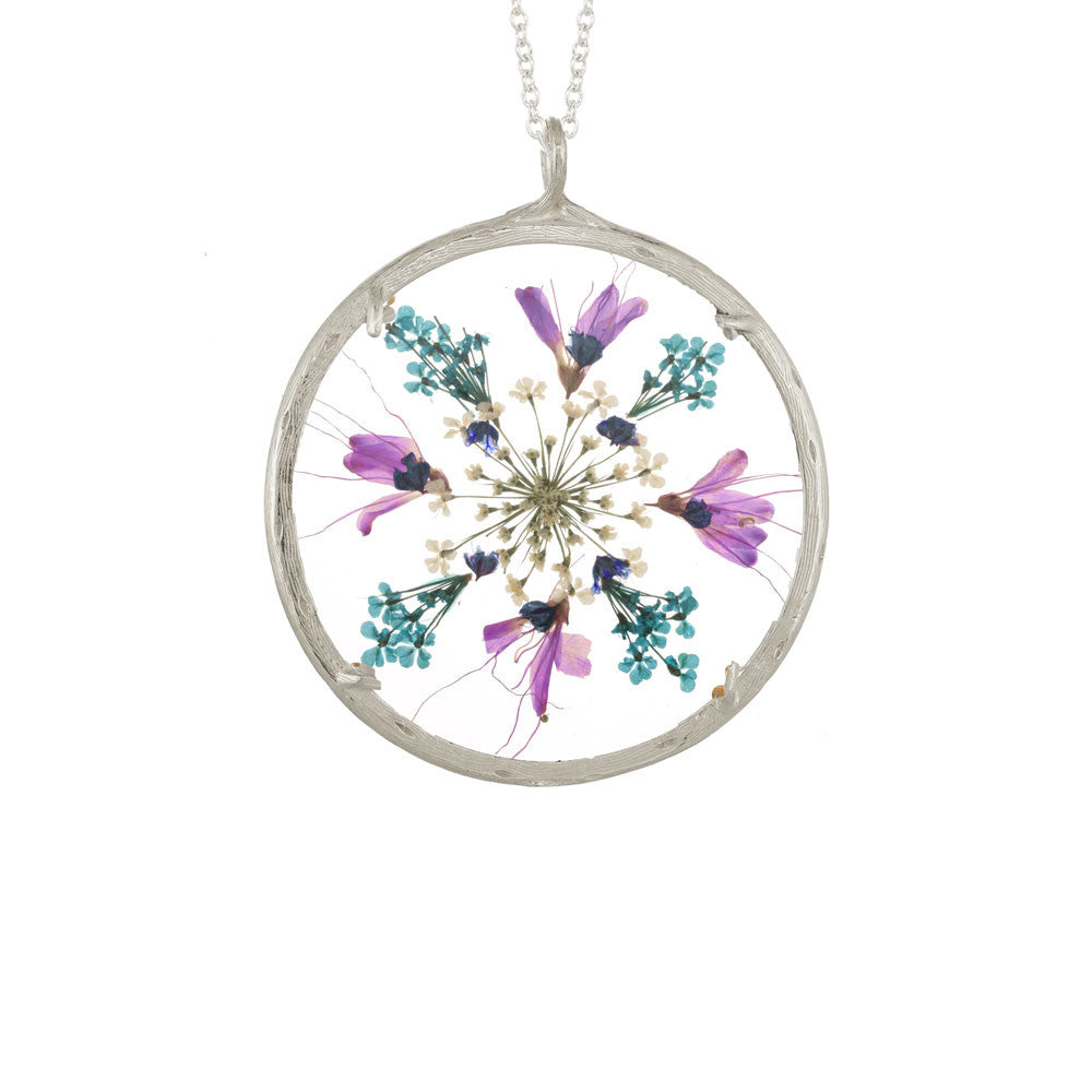 XLG Flower Mandala Necklace