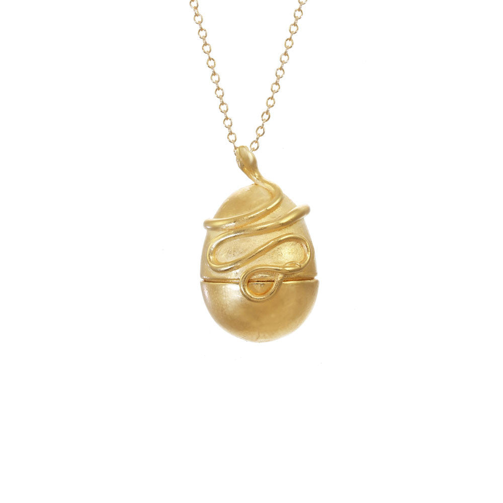 Snake Egg Locket