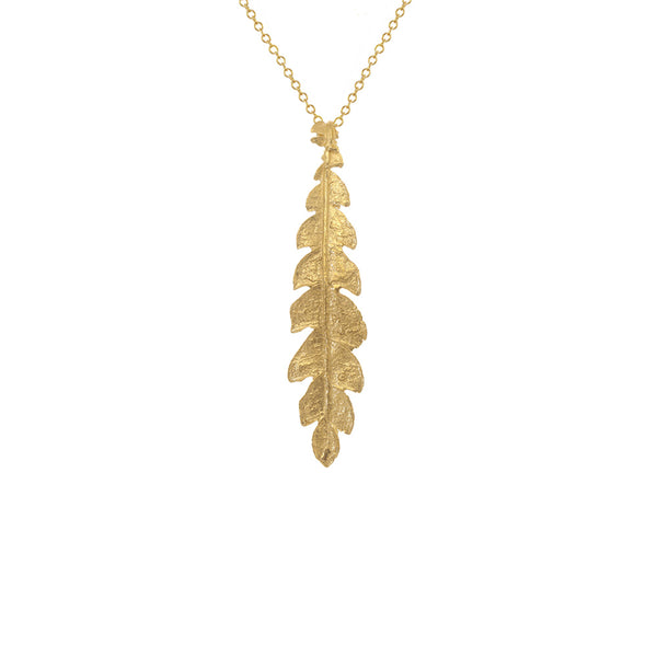 Forest Fern Necklace