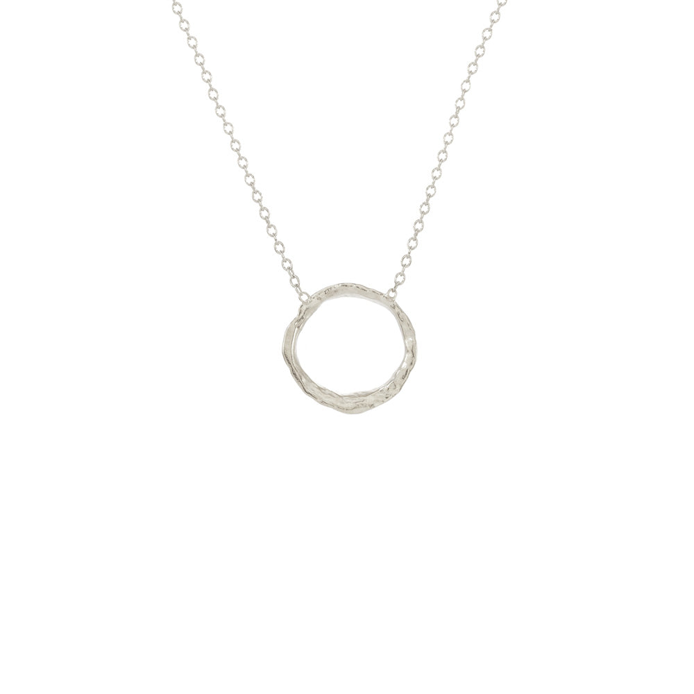Small Opihi Circle Necklace