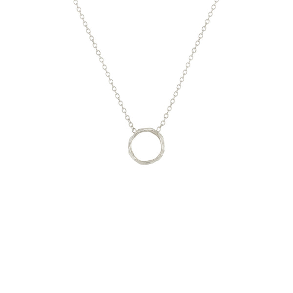 Mini Opihi Circle Necklace