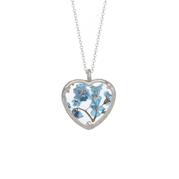 Botanical Heart Necklace