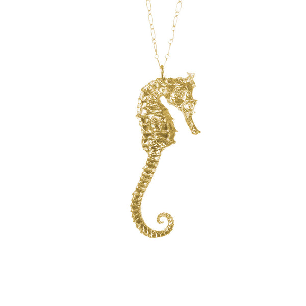 Extra Large Seahorse Necklace