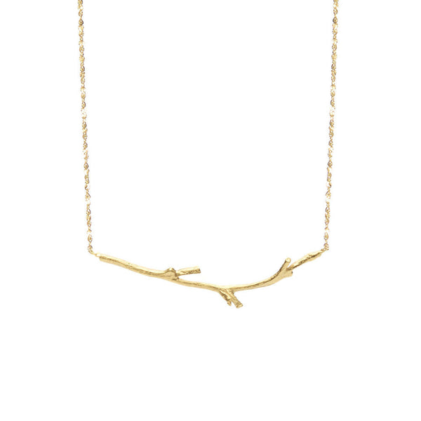 Horizontal Branch Necklace