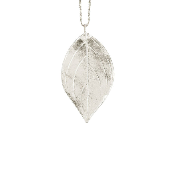 Extra Large Leaf Necklace