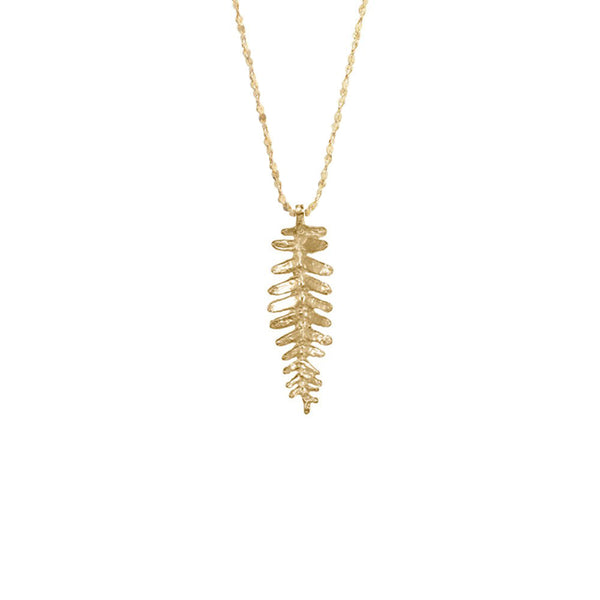 Kaimana Leaf Necklace