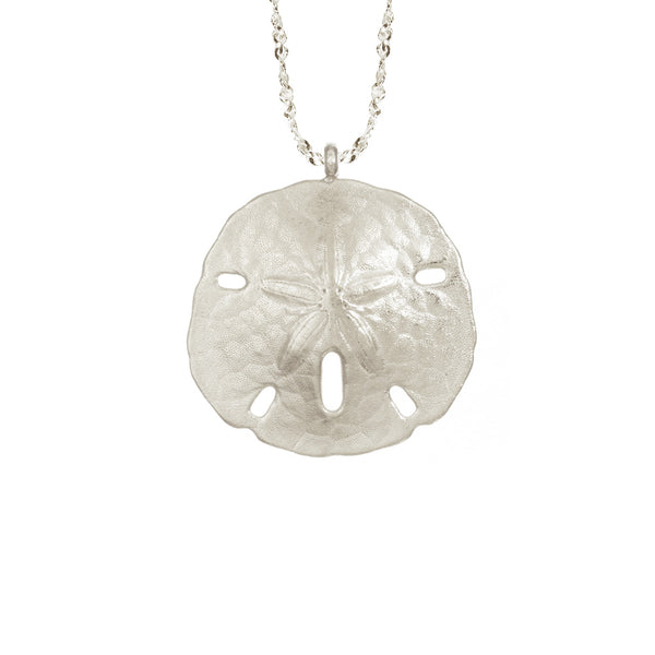 Extra Large Sand Dollar Necklace
