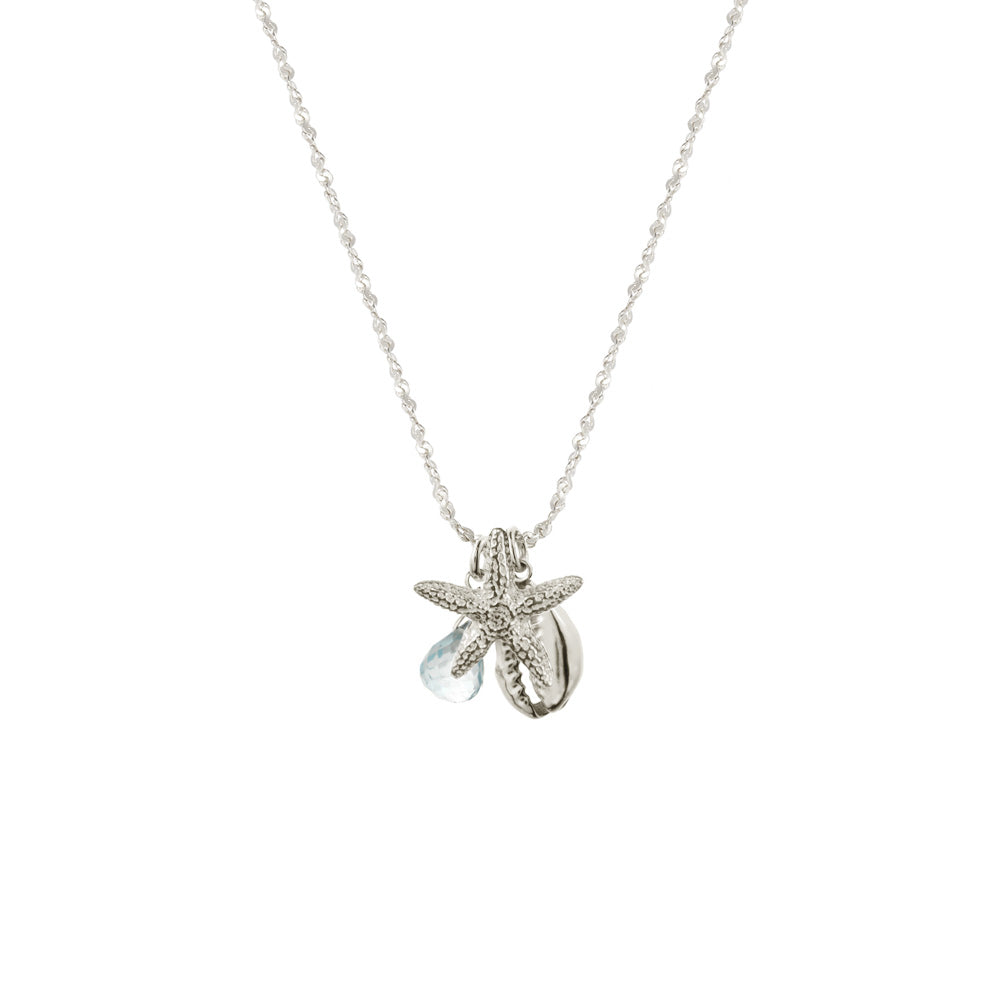 Cowrie Starfish Necklace