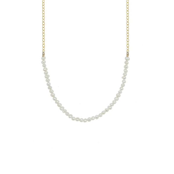 Gemstone Rondelle Necklace - Select Gold Styles Only