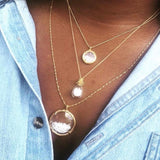 Mini Shaker Necklace -  Select Rose Gold Styles Only