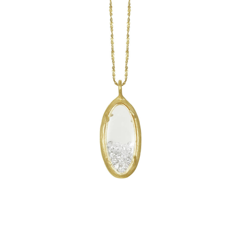 Oval Shaker Necklace