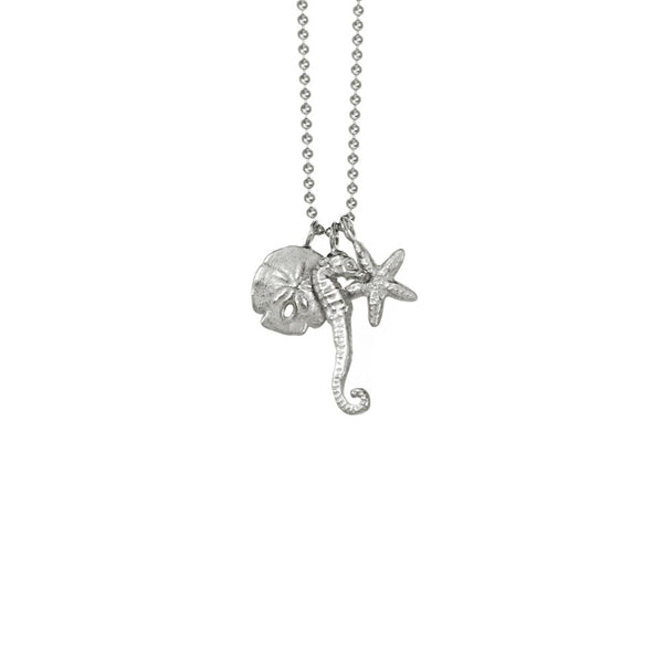 Mini Sealife Charm Necklace
