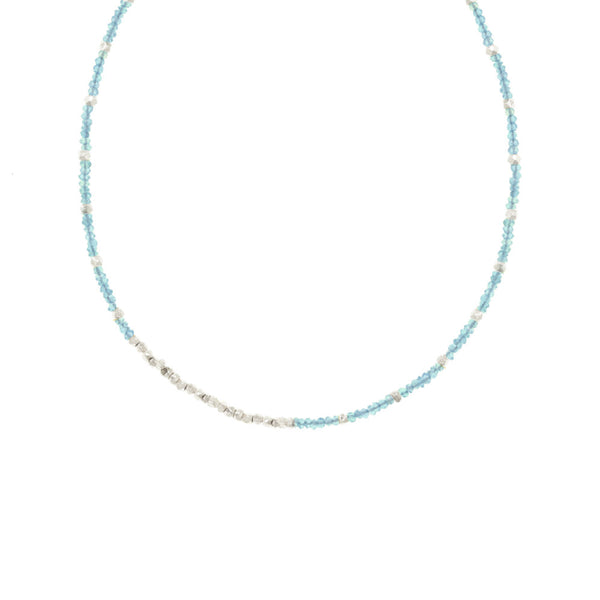 Reverse Gemstone Fade Necklace