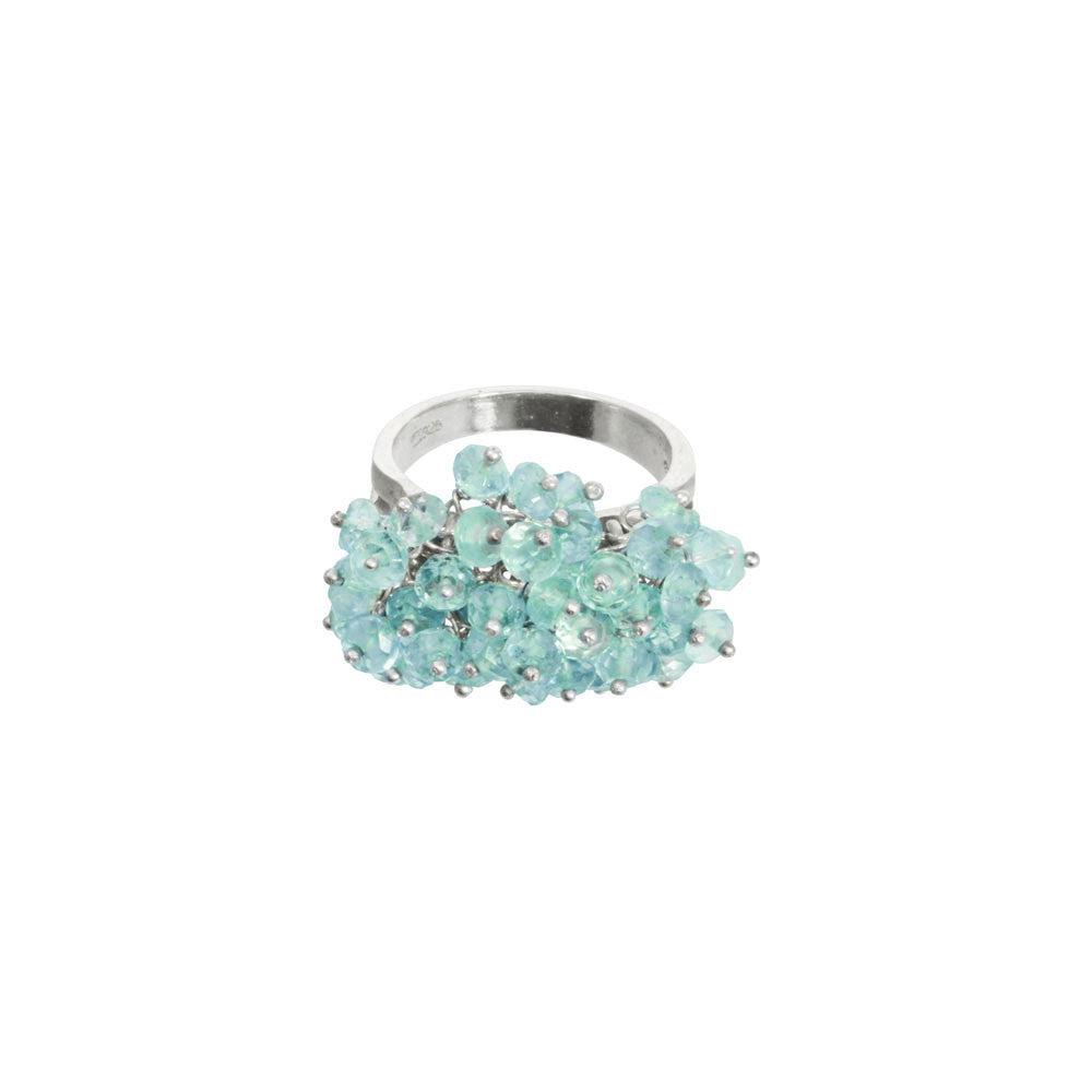 Gemstone Cluster Ring
