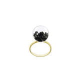 Small Globe Ring - Select Gold Styles Only