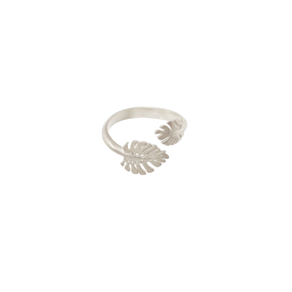 monstera wrap ring