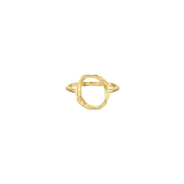Small Opihi Circle Ring