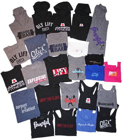 Crush your CrossFit WOD in ultimate comfort - Jumpbox Fitness apparel for functional fitness