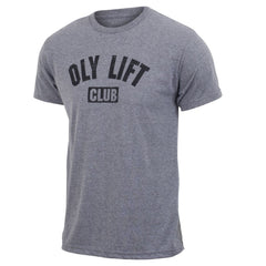 Men's crossfit weightlifting gift idea - Oly Lift Club - Gray - Men's Triblend T-shirt