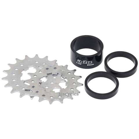 A2Z Single Speed Kit 16T/18T