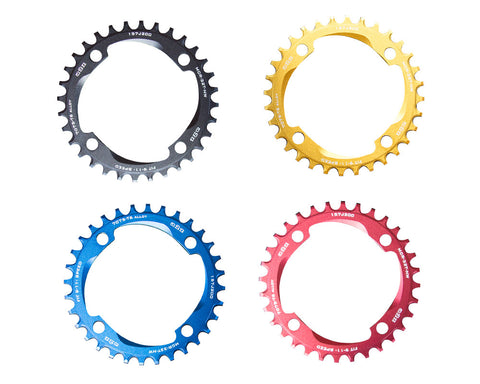 A2Z Narrow Wide Chainring<br> CNC 96 & 104mm