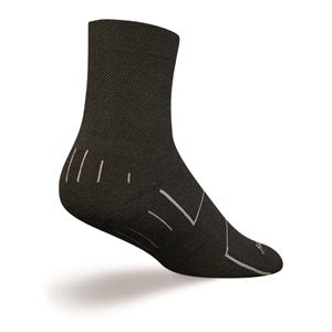SockGuy Wooligan Black