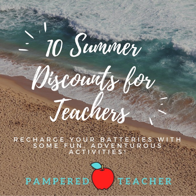 Summer Discounts for Teachers
