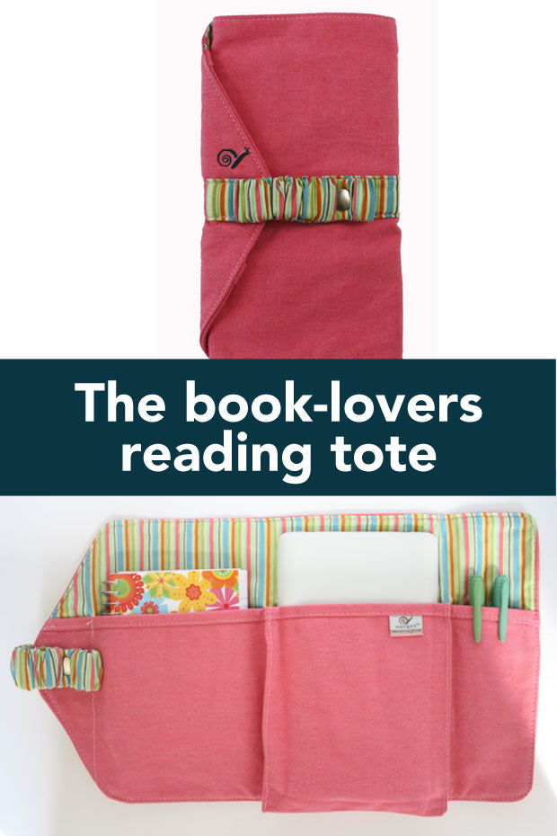 book lovers purse insert organizer for reading essentials on the go. Protect your e-reader, note pad, and reading glasses with this roll and go organizer Made in the USA