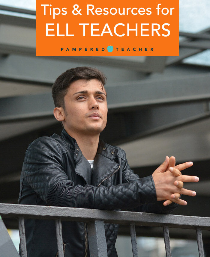 tips, ideas and resources for ELL teachers and those who teach refugees. Get more information at the Pampered Teacher blog