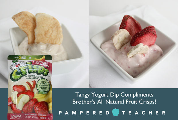 Healthy fruit dip recipes for school lunches with @BAN_News