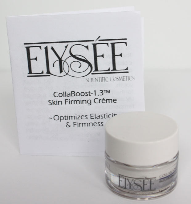 Pampered Teacher is proud to partner with Elysée Scientific Cosmetics to bring you their new CollaBoost-1,3™ skin firming créme in upcoming subscription boxes #ElyseeCosmetics
