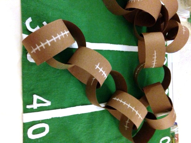 superbowl craft and activity for #teachers | math craft