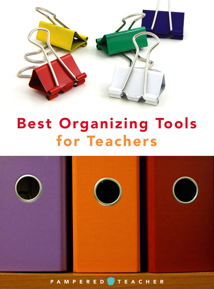 Get organized - teachers tell us their best tips, ideas and tools for organizing their classrooms