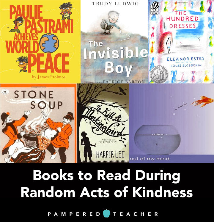 Books that teach empathy, kindness and compassion to elementary, middle school and high school students