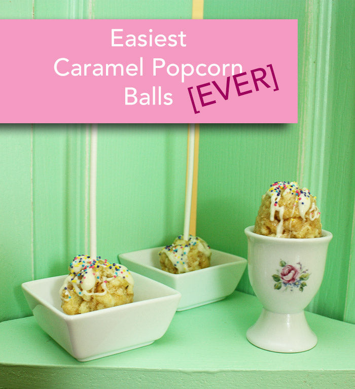 Holiday ideas for caramel corn ball treats get the easy recipe on the Pampered Teacher blog http://pamperedteacher.com